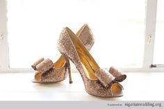 Wed Over Heels: Stunning Designer Wedding Shoes Ideas   Nigerian Wedding