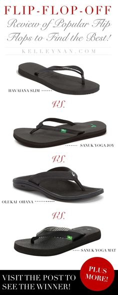 99d167649ea5 Finding the best women s flip flops by comparing different popular brands
