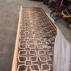 Folding Screen Room Divider, Room Divider Walls, Partition Screen, Stainless Steel Sheet Metal, Stainless Steel Screen, Metal Clock, Metal Wall Art, Laser Cut Screens, Sheet Metal Fabrication