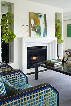 Anne Hepfer - Interior Design - GREENERY: COLOUR OF THE YEAR 2017 - melaniemorel.com
