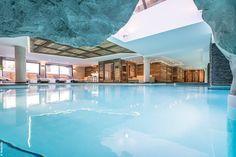 Au cœur du domaine skiable des 3 Vallées, le Spa NUXE de l'Hôtel Le Kaila***** à Méribel offre sur plus de 600 m² un espace intemporel de réconfort et de relaxation. #NUXE #Spa #SpaNUXE #Détente #BienEtre #Cocooning #Beauty #Méribel