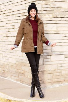 What I Wore, The What I Wore blog, WhatIWore, @Jess Liu Quirk   What I Wore, Jessica Quirk, Gingham Remix, Cold Weather Outfits, Warm Outfits, Winter Outfits,