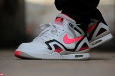 Nike Air Tech Challenge II Hot Lava ! Most beautifull Agassi shoe ! Timeless !