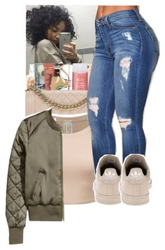 """"""""""" by princessjolie ❤ liked on Polyvore featuring adidas"""