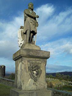 Scotland ~ Robert The Bruce - Stirling Castle by desmond302, via Flickr