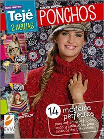 PONCHOS dos agujas - Edición especial 2014