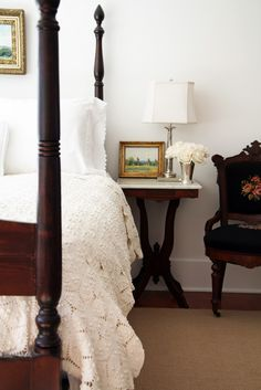 A Country Farmhouse: Upstairs Master Bedroom