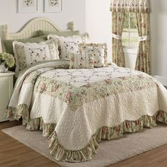 Embroidered Bedspread & More | Bedspreads | Brylanehome