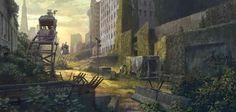 Awesome Dawn Of The Planet Of The Apes concept art