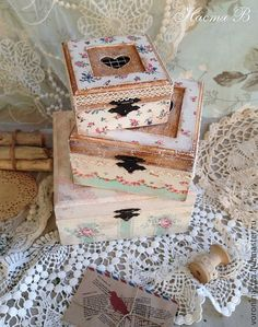 Shabby Chic boxes