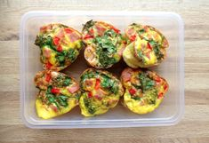 EGG: Muffinsformene kan også brukes til å lage næringsrike eggmuffins med valgfrie grønnsaker. Foto: Linda Marie Stuhaug