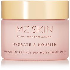 MZ Skin Hydrate & Nourish Age Defence Retinol Day Moisturizer SPF30,... (£88) ❤ liked on Polyvore featuring beauty products, skincare, face care, face moisturizers, beauty, makeup, filler, colorless and face moisturizer