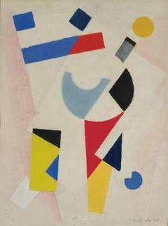 """Compositie (Composition)"", 1924 / Carel Willink (1900-1983) / Rijksmuseum Twente, Enschede, The Netherlands"