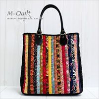 (m-quilt)?(m-quilt)? Quilted Gifts, Quilted Bag, Japanese Bag, Fab Bag, Craft Bags, Bag Patterns To Sew, Patchwork Bags, Denim Bag, Big Bags