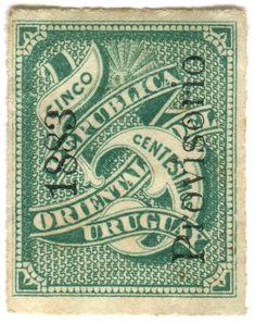 Stamp from Uruguay.   -lbk-