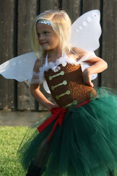 ZARINA the PIRATE FAIRY Inspired Tutu Dress, Wings, and Sequin Headband - Tinkerbell Costume - Halloween - Dress Up on Etsy, $45.00