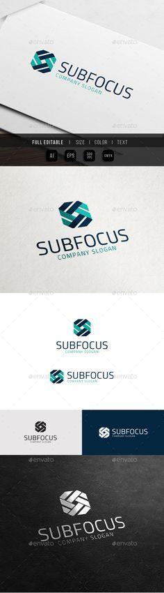 Square Ribbon Corporate - Focus Media Logo Design Template Vector #logotype Download it here: http://graphicriver.net/item/square-ribbon-corporate-focus-media/10803755?s_rank=1208?ref=nexion