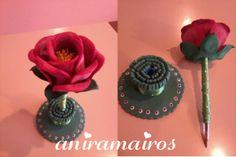 Pluma flor (Rosa)