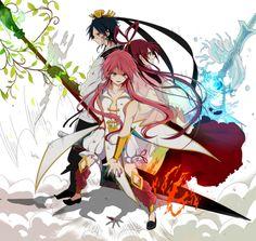 Magi: The Labyrinth of Magic// Ren Hakuryuu, Ren Kouha, and Ren Kougyoku