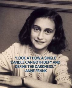 It always astounds me how much wisdom such a young girl had.