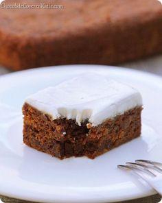 Ginger Molasses Cake via cck
