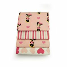 Disney Mickey Mouse & Friends Minnie Mouse 4-pk. Receiving Blankets