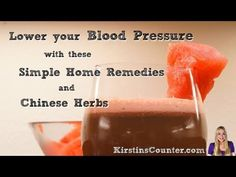 How do you know if you have High Blood Pressure? -  CLICK HERE for the Blood Pressure treatment method #blood #pressure #bloodpressure Lower your blood pressure naturally with these home remedies, and Chinese Herbs. Join Kirstin Stephenson as she shows yo (Reduce Weight Blood Pressure)
