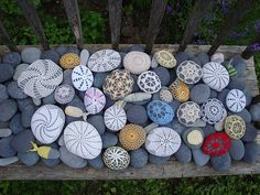 """I need a """"rock garden"""" somewhere in the yard!"""