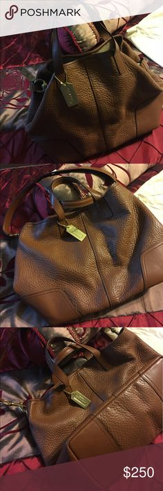 Coach bag New coach soft leather bag long strap and carry handles Coach Bags Crossbody Bags