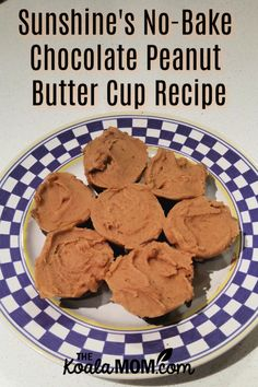 Sunshine's No-bake Chocolate Peanut Butter Cups Recipe. These DIY Reese cups are easy to make and use honey instead of sugar for a healthier treat. Chocolate Peanut Butter Cup Recipe, Peanut Butter Recipes, Chocolate Recipes, Peanut Butter Squares, Tasty Pastry, Chocolate Peanuts, Yummy Cookies, Different Recipes, Healthy Cooking