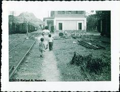 Estación de Bayamon,años 50,Puerto Rico.