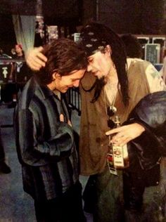 Eddie Vedder and Al Jourgensen, Lollapalooza 1992