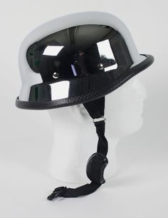 german chrome motorcycle helmet 29.95 free shipping #germanhelmet #motorcyclehelmet #motorcyclehelmets https://theleatherdropship.com