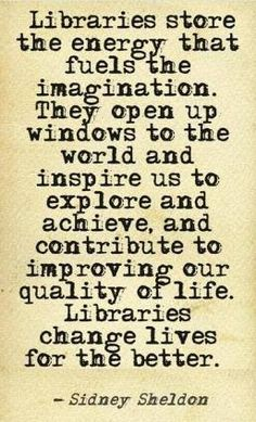Oh yes!!! So true... Sad is the life of a child who has never been to a library. #books #reading #imagination