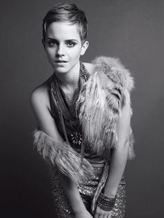 Hermione Granger no more.  Emma Watson knew it was time to rock it out.  Marie Claire cover shoot style info incl in link.