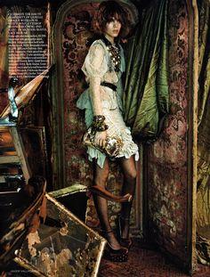Enter the Dinner Dress (British Vogue)