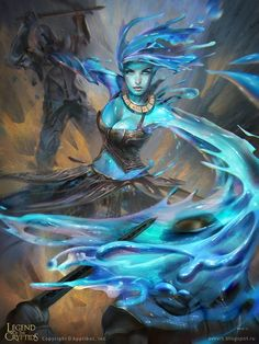 Kai Fine Art is an art website, shows painting and illustration works all over the world. Fantasy Character Design, Character Concept, Character Art, Concept Art, Fantasy Races, Fantasy Rpg, Fantasy Artwork, Dungeons And Dragons Characters, Dnd Characters