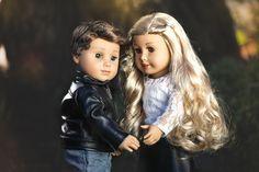 Logan & Tenney Grant American Girl Doll and Boy doll clothes.  www.meandmyprincess.com   #americangirldoll #americanboydoll #americangirldollclothes