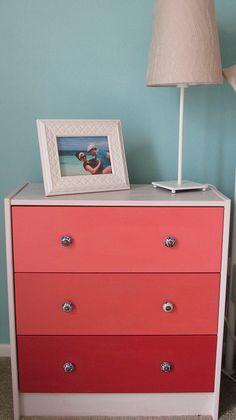 DIY Ikea Rast Drawers