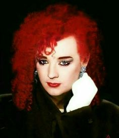 One of my favourite looks Culture Club, Boy George, Concert Posters, Hollywood Celebrities, Music Is Life, Pretty Boys, Red Hair, Halloween Face Makeup, Singer