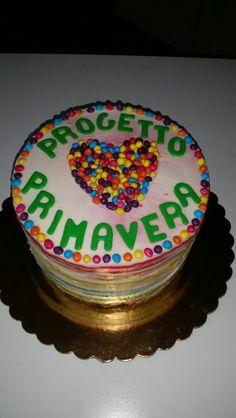 Rambow cake