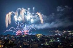 Notte di fuoco d'artificio (NDF) - Belvedere Marittimo, Calabria (end of July) ★★