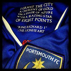 Portsmouth FC - Pride, passion, spirit.
