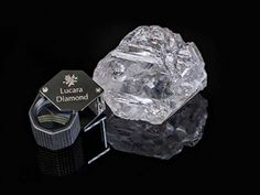 """Largest Diamond In Over 100 Years Discovered In Botswana: Weighing carats and measures approximately inches by inches by inches, or """"about the size of a tennis ball. The stone is the second-largest """"gem quality"""" diamond ever recovered. Expensive Diamond Rings, Diamond Rings With Price, Diamond Mines, Rough Diamond, Uncut Diamond, Gem Diamonds, Thing 1, Bling Bling, Quality Diamonds"""