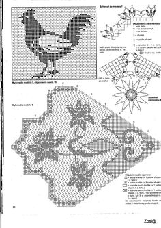 This Pin was discovered by Mon Crochet Doily Diagram, Crochet Stitches Patterns, Doily Patterns, Weaving Patterns, Crochet Designs, Stitch Patterns, Crochet Butterfly, Crochet Birds, Thread Crochet