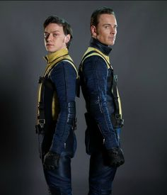 James McAvoy & Michael Fassbender as Charles Xavier & Eric Lehnsherr (X-Men: First Class)