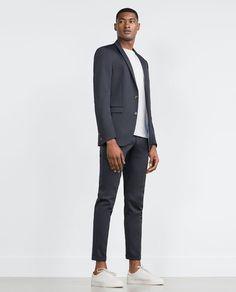 7f530240 SLIM FIT SUIT. Men's Suits | Summer Sale 2017 | ZARA United States