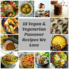 Think being vegan or vegetarian during Passover is challenging? We've got you covered with these fun Vegans and Vegetarian Passover recipes. Enjoy! via @mayihavethatrecipe