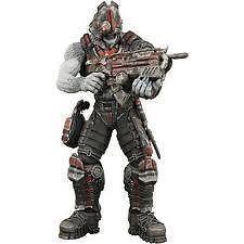 "Gears of War 2 série 3 Grappler Locust Drone avec masque figurine 7"" NECA"