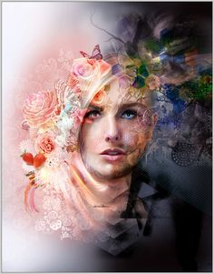 Canvas Art Print  Masculine/Feminine  37x29cm  by MisprintArt